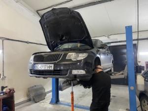 SKoda Superb - ремонт підвіски, ходової