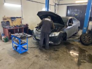 ремонт Toyota - заміна АКПП